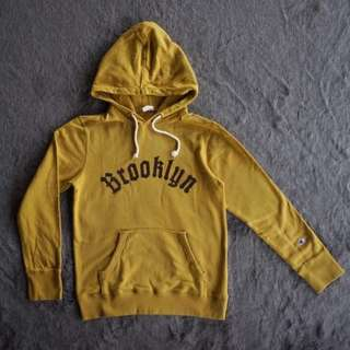 "champions pullover hoodie ""brooklyn"" yellow"
