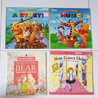 Disney's Pooh / Walker Bear / Elosie's lift the flap