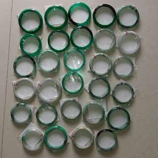 Jade stone circle