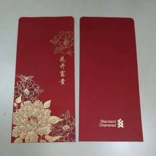 Ang Pow Ang Bao Angpow Red Packet from Standard Chartered