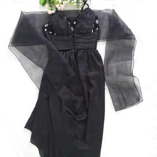 Party Black Dress Swarovski