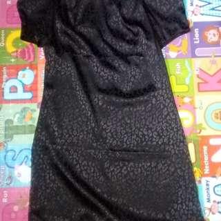 Black Formal korean looking dress