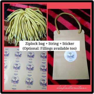 Ziplock Bag Doorgift