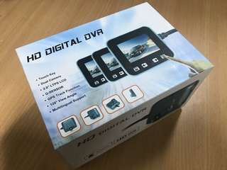 HD Digital DVR ( Front and Rear)