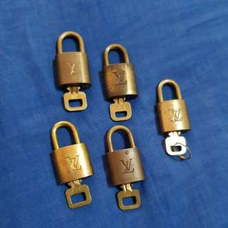 Authentic LV Padlock small
