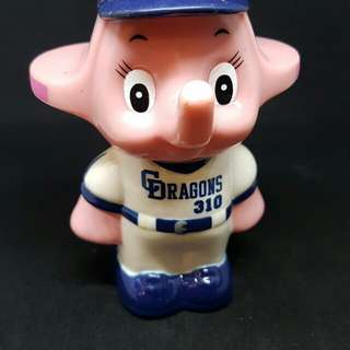 Pink Sato elephant baseball
