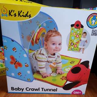 Baby Play Mat and Crawl Tunnel