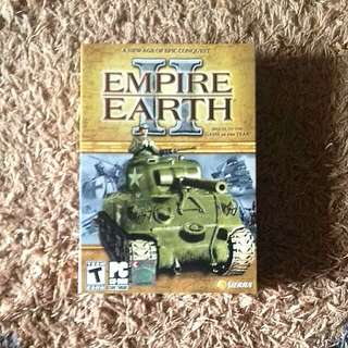 PC CD Rom Game - Empire Earth