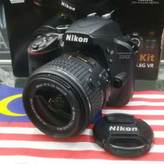 USED NIKON D3400 DSLR BODY
