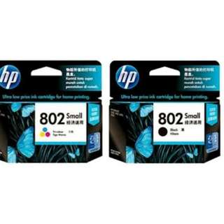 Tinta HP 802 Black Colour Original