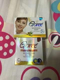Authentic Goree soap & Goree day & night cream!