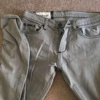 NANA JUDY Grey jeans size 30