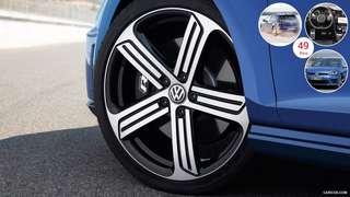 Volkswagen Golf R rim