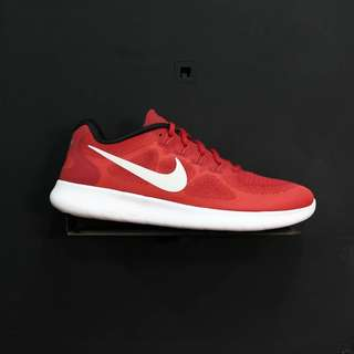 Nike Free RN 2017 Game Red Off White Track Red