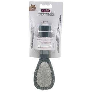 Le Salon Essentials Cat Steel Bristle Pin Combo Brush