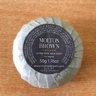 50G MOLTON BROWN ULTRA PURE MILK SOAP2