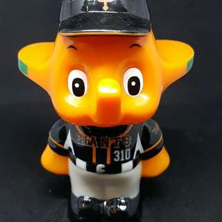 Sato elephant baseball black coin bank