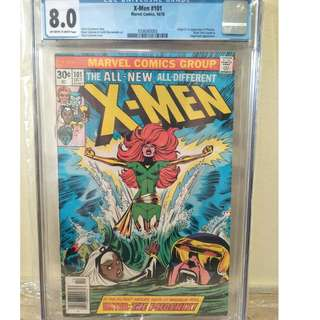 X-men 101 CGC graded comics