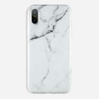 White Marble Glossy Case