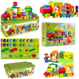 💥75 pcs train blocks set💥