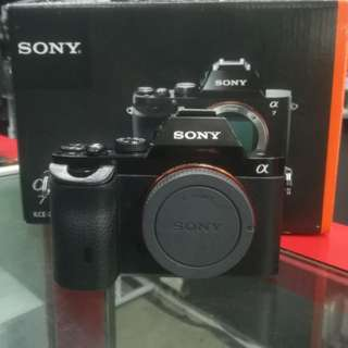 USED SONY A7 FULL FRAME MIRRORLESS BODY