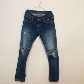 Kevin Egan Ripped Jeans