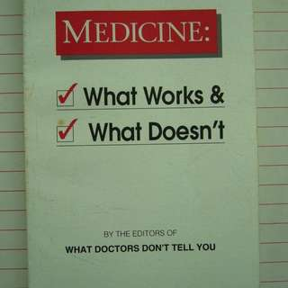 (Health) What Doctors Don't Tell You