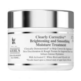 Kiehl's clearly corrective brightening and moisturizing treatment