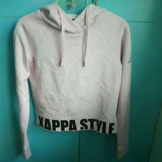 Kappa Baby Pink Hoodie Jacket
