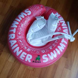 *NOT SELLING ATM* Swimtrainer Classic Red Baby Swimming Float