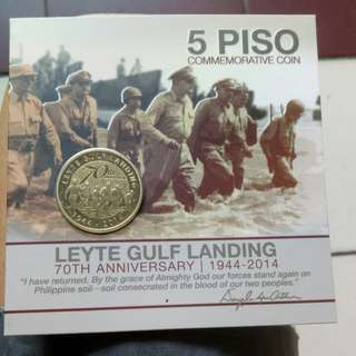 5piso commemorative coins