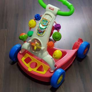 Fisher price 2 in 1 walker toy cart