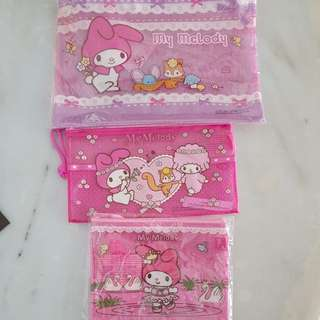 My Melody Pencil Case Set