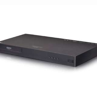 LG Blu-ray 4K Player