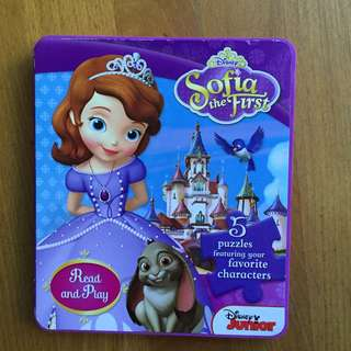 Sofia the first Story & puzzle