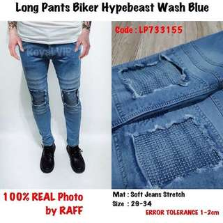Jeans Hypebeast Wash Blue