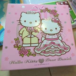 Hello kitty 結婚相架