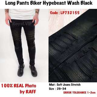 Jeans Hypebeast Wash Black