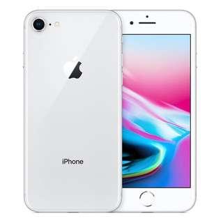 iPhone 8 銀色 64GB 上台機 全新未拆包裝