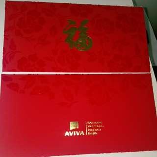 Red packet Aviva