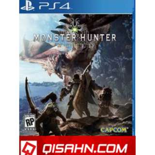 PREOWNED MONSTER HUNTER WORLD