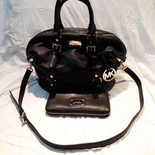 Michael Kors Leather Bag & wallet