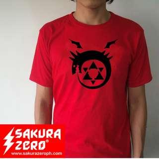 Fullmetal Alchemist Homunculus Anime T Shirt