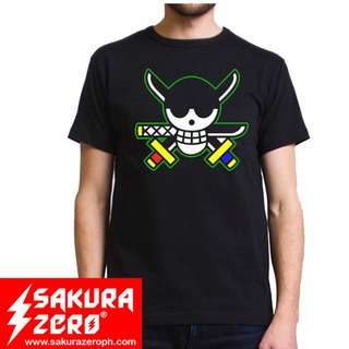 one piece roronoa zoro anime t shirt