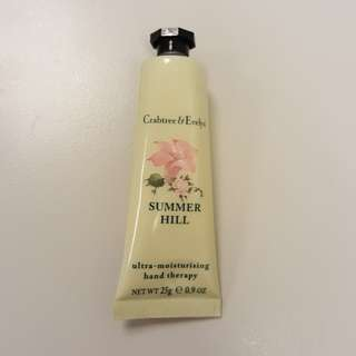 $15 incl mailing - Summer Hill Crabtree & Evelyn Hand Cream