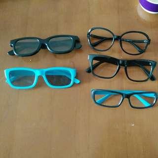 3D 眼鏡。。眼鏡匡。。。