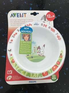 Avent Feeding Bowl 12 m+