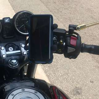 Honda Super 4 Handphone Holder Mount Mobile Phone Mount