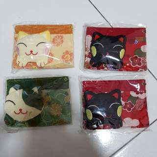 Fortune cat card holder