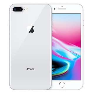 iPhone 8 Plus 銀色 64GB 上台機 全新未拆包裝